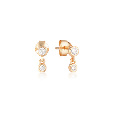 Niki Earrings Rose Gold