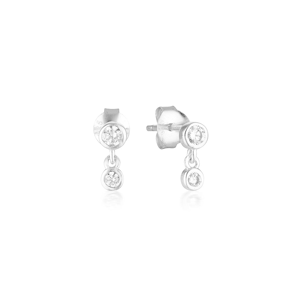 Niki Earrings Silver