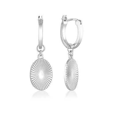 Sage Earrings Silver