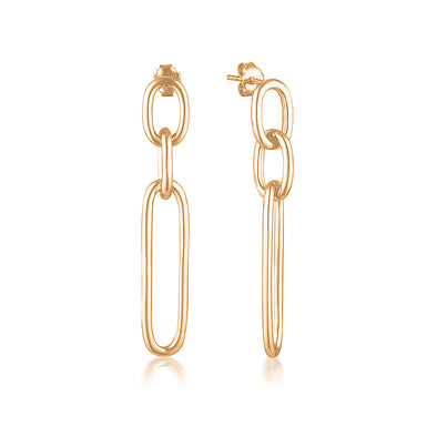 Andrea Earrings Rose Gold