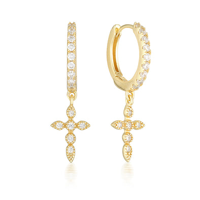 Alexia Earrings Gold