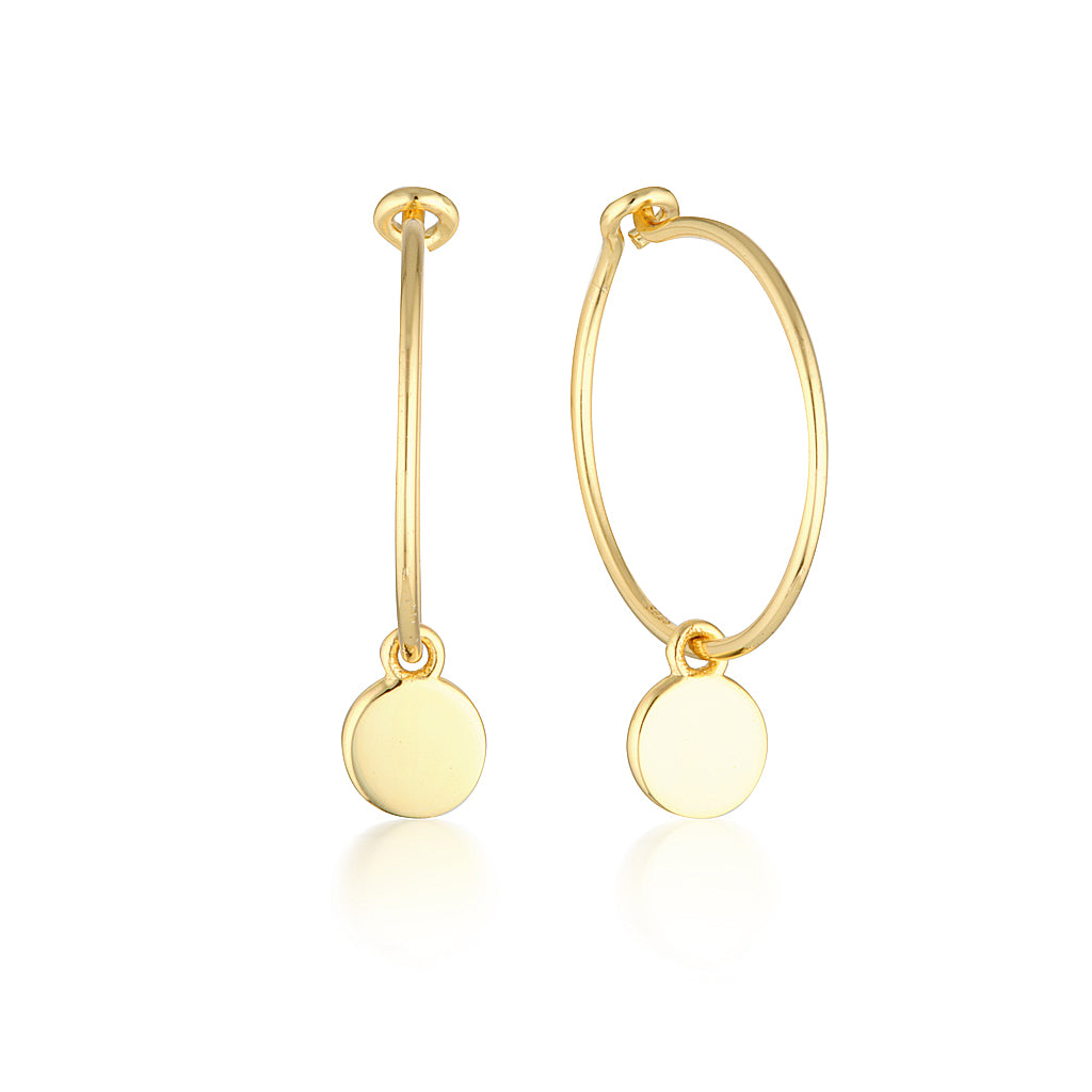 Ricki Earrings Gold