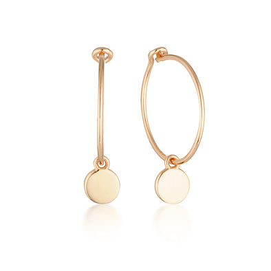 Ricki Earrings Rose Gold