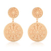 Nia Pella Earrings Rose Gold