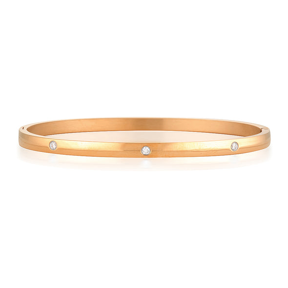 Yolanda Bangle Rose Gold
