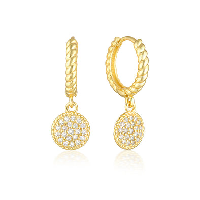 Isobel Earrings Gold