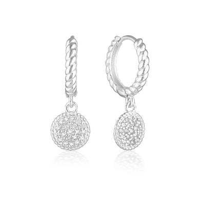 Isobel Earrings Silver