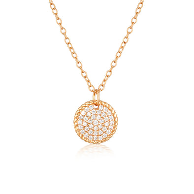 Isobel Necklace Rose Gold