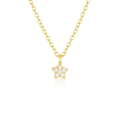 Estella Necklace Gold
