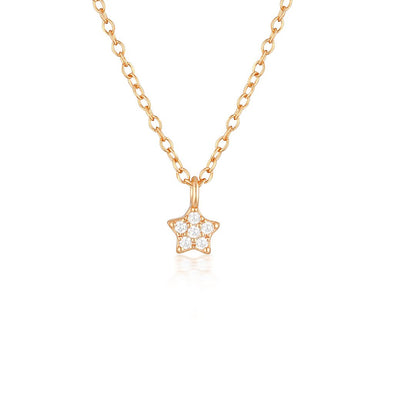 Estella Necklace Rose Gold