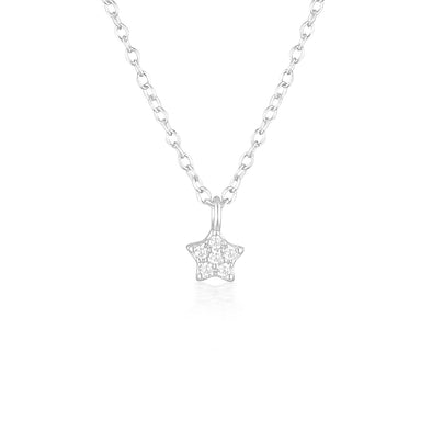 Estella Necklace Silver