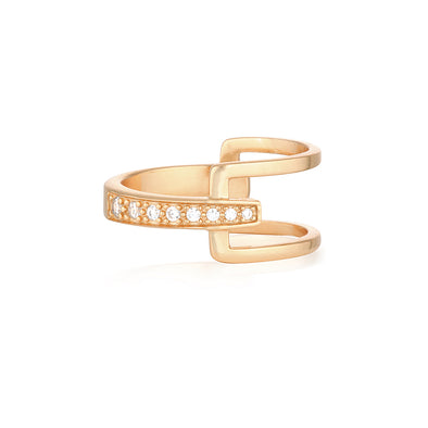 Charlie Ring Rose Gold