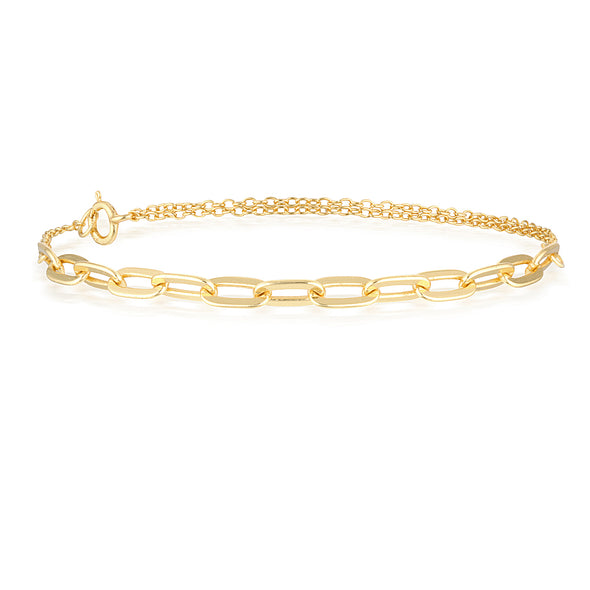 Hunter Bracelet Gold