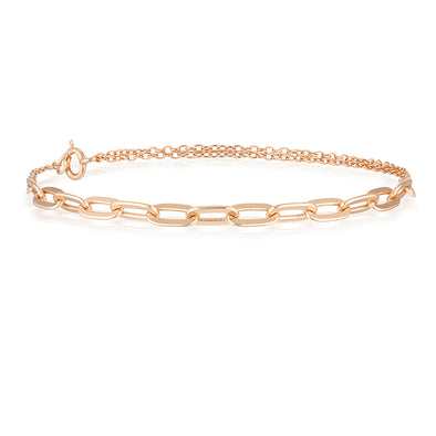 Hunter Bracelet Rose Gold