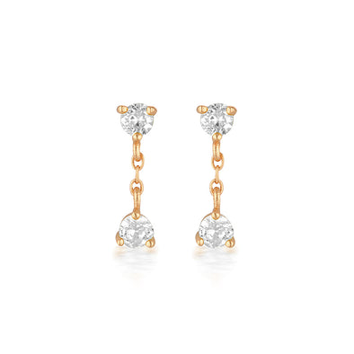 Presley Earrings Rose Gold