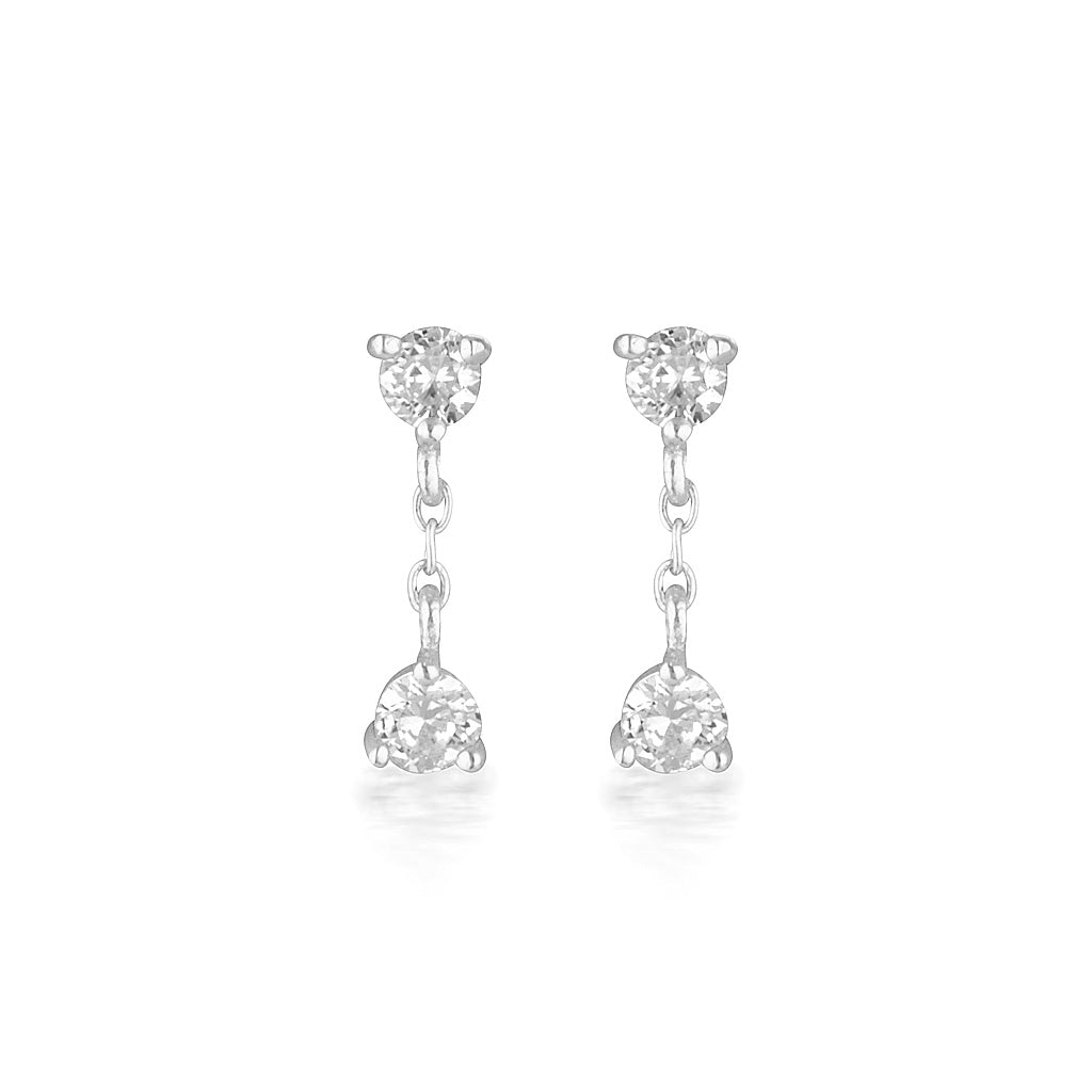 Presley Earrings Silver