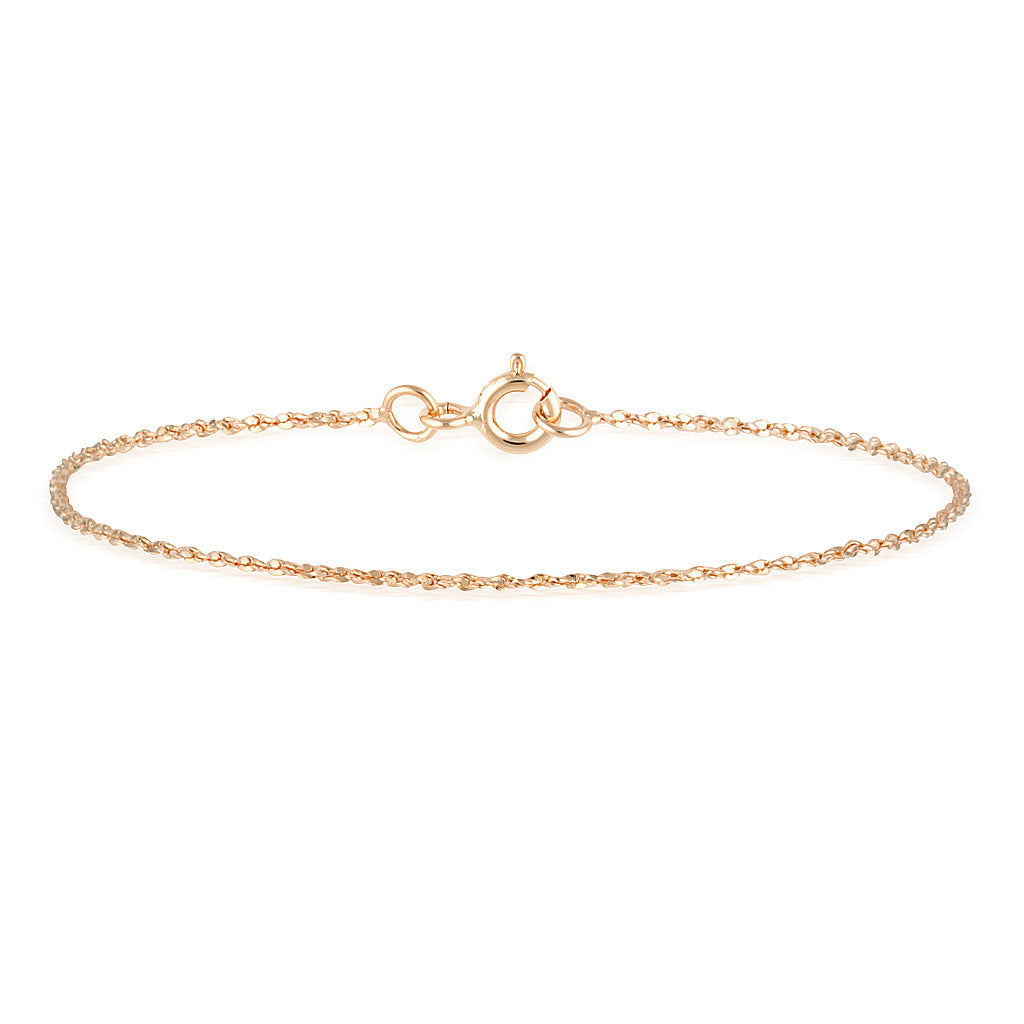 Quinn Anklet Rose Gold