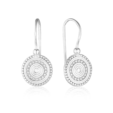 Florence Drop Earrings Silver