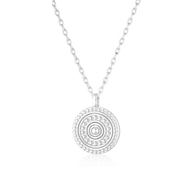 Florence Necklace Silver