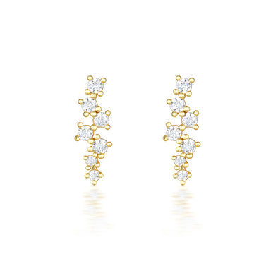 Darcie Earrings Gold