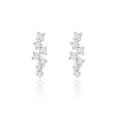 Darcie Earrings Silver