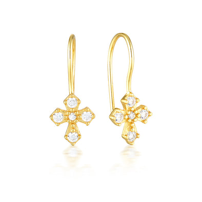 Dita Earrings Gold