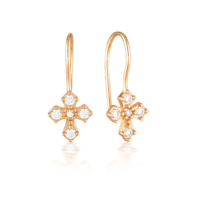 Dita Earrings Rose Gold