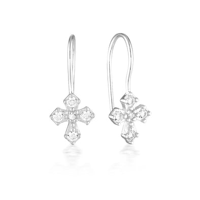 Dita Earrings Silver