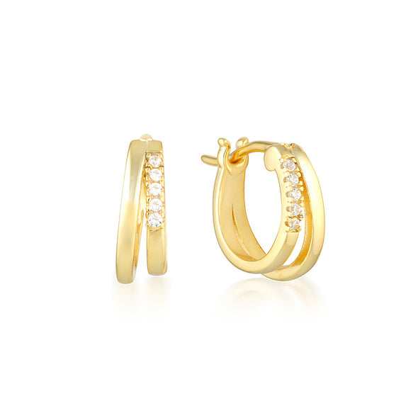 Rebel Earrings Gold