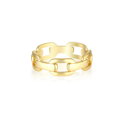 Hunter Ring Gold