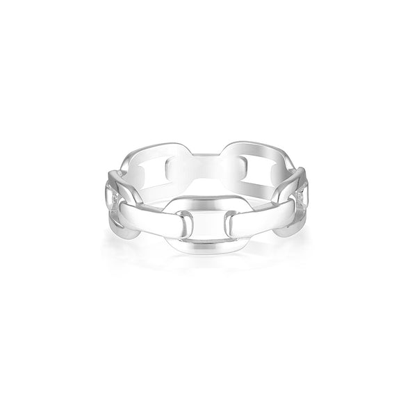 Hunter Ring Silver