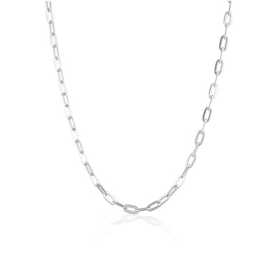 Hunter Necklace Silver