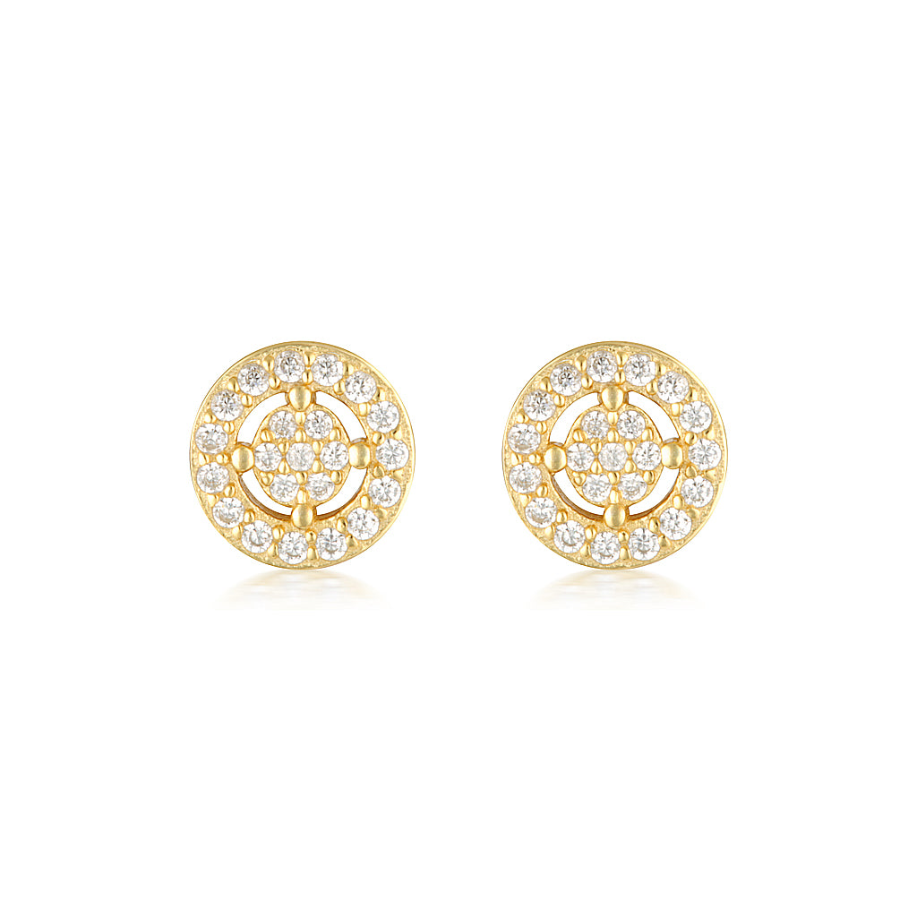 Olivia Earrings Mini Gold
