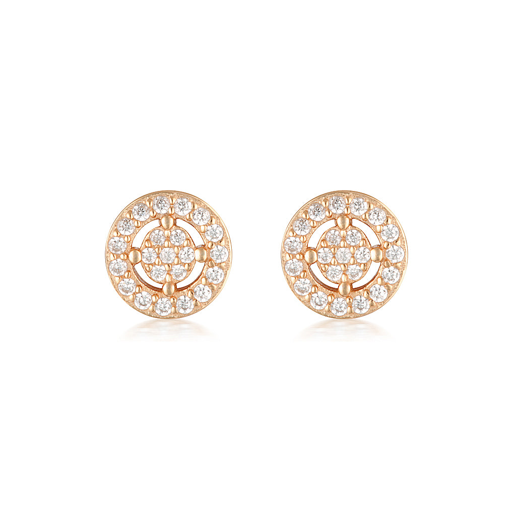 Olivia Earrings Mini Rose Gold