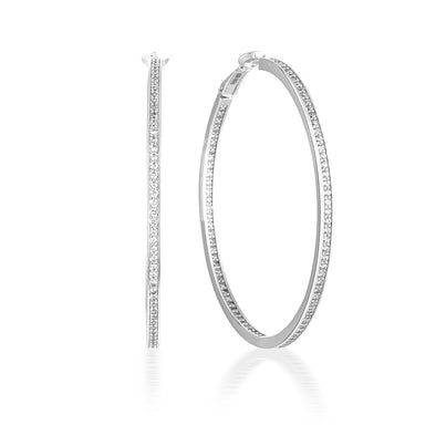 Ginger Hoops Silver