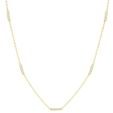 Anthi Necklace Gold