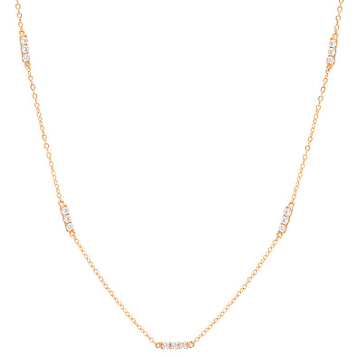 Anthi Necklace Rose Gold