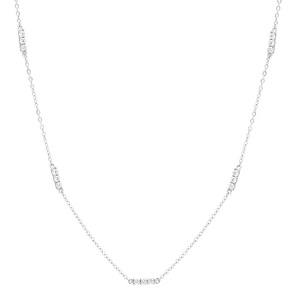 Anthi Necklace Silver