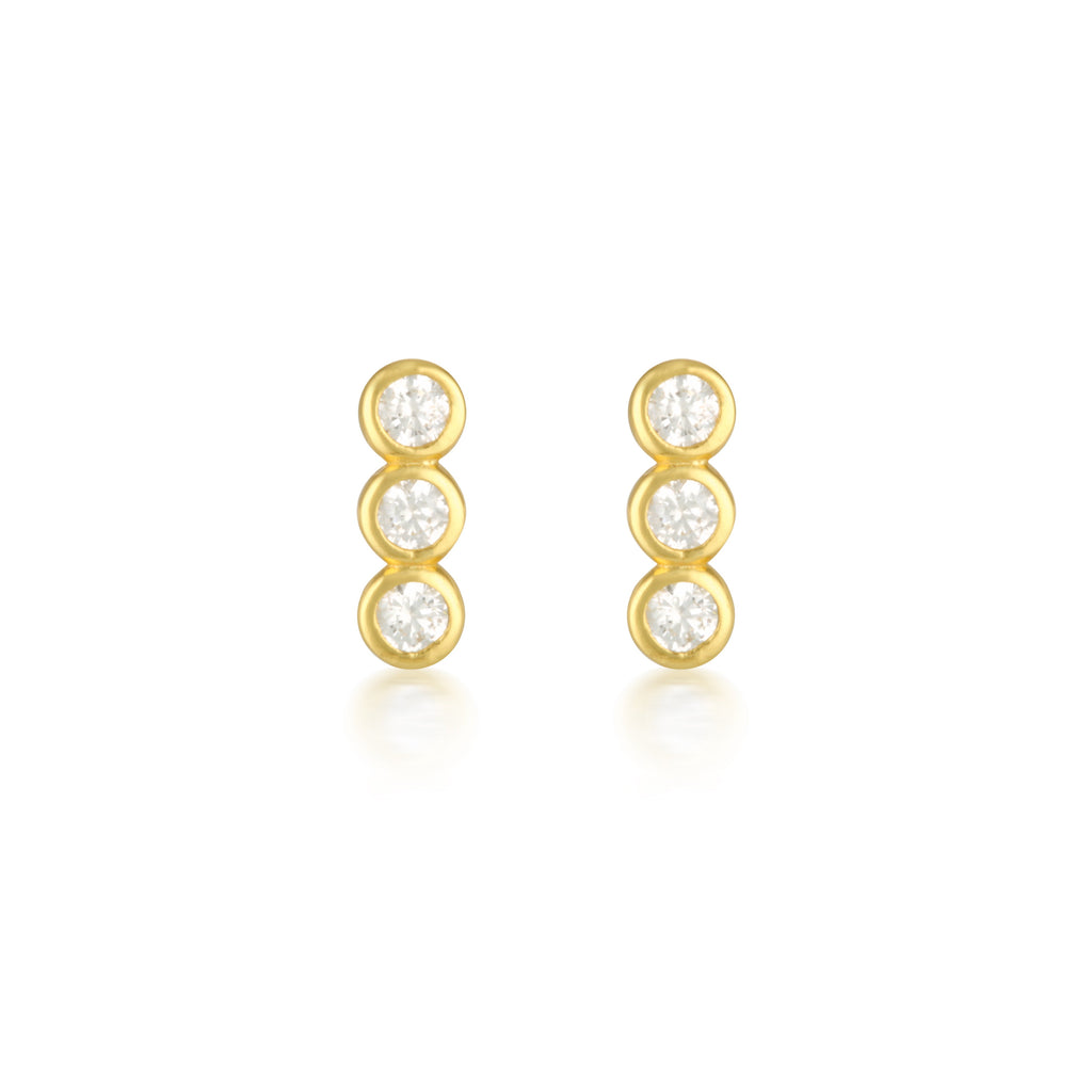 Ora Earrings Gold