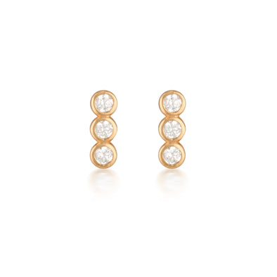 Ora Earrings Rose Gold