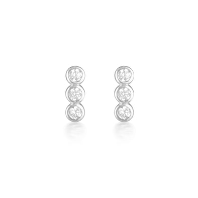 Ora Earrings Silver