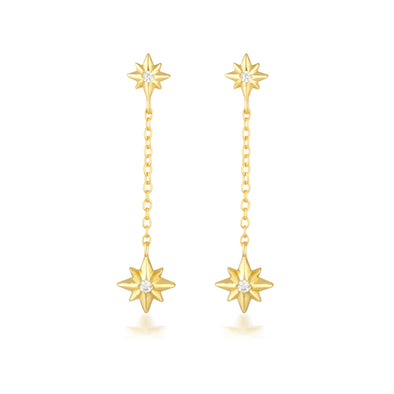 Ariel Earrings Gold