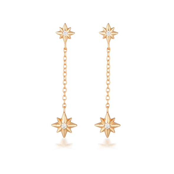 Ariel Earrings Rose Gold