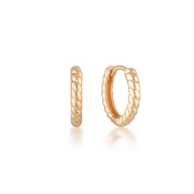 Max Earrings Rose Gold