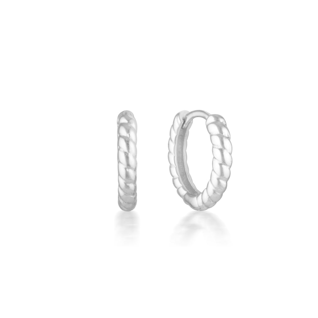 Max Earrings Silver