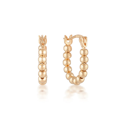 Lennox Earrings Rose Gold