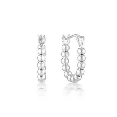 Lennox Earrings Silver