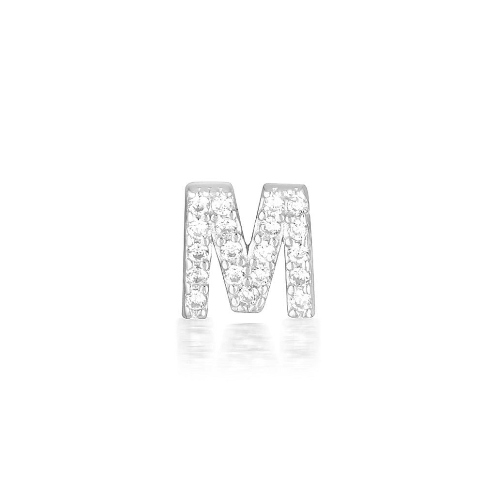 A-Z Earrings Silver