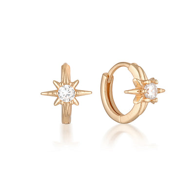 Skye Earrings Rose Gold