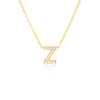 A-Z Necklaces Gold